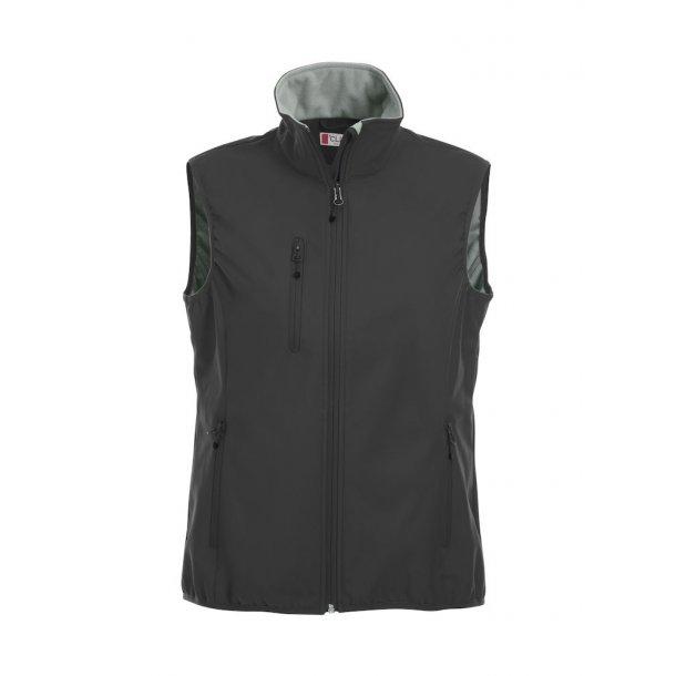 f3d46149a99a Clique Basic Softshell Vest Dame 020916 - Veste - SlothWear