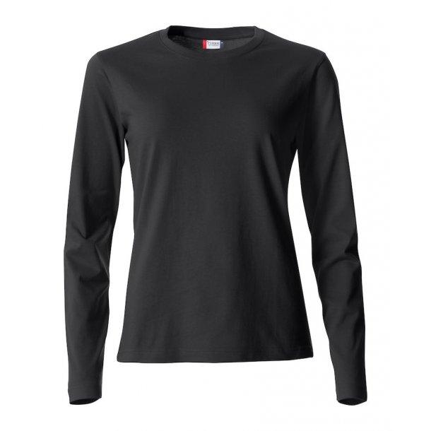 Clique Basic T shirt LS Dame 029034