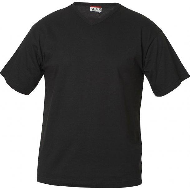 Clique Fashion T-shirt V-hals 029331