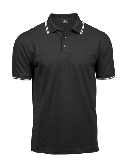 Tee Jays Luxury Stripe Stretch Polo Herre 1407 Polo