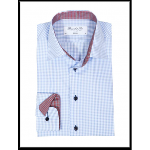Baltimore blå button down Oxford skjorte