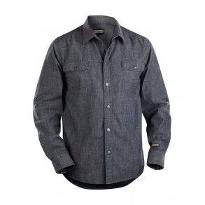 ec547cf8 Blåkläder Denim Skjorte 3295