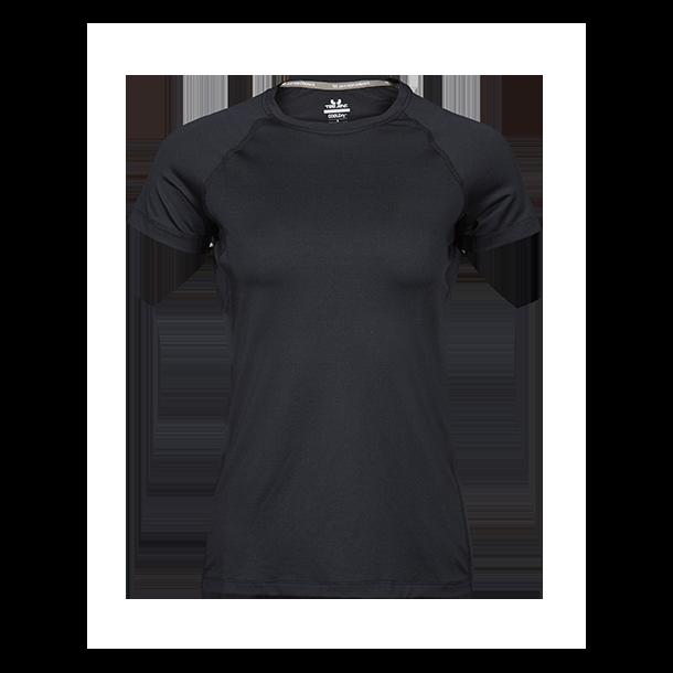 ff5d3af7f9ac Tee Jays CoolDry T-shirt Dame 7021 - T-shirts - SlothWear