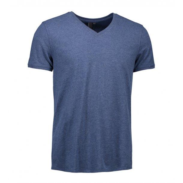3eda0569 ID T-shirt V-hals Herre 0542 - T-shirts - SlothWear