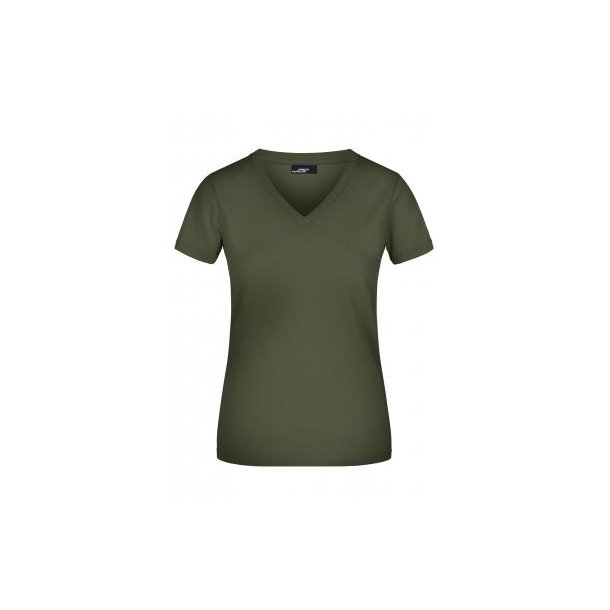 a66e8505 James & Nicholson V-hals T-shirt Lady JN004 - T-shirts - SlothWear