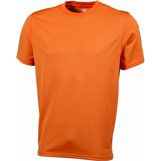 76dcdef8 James & Nicholson Active T-shirt Men JN358 - Løbetøj - SlothWear